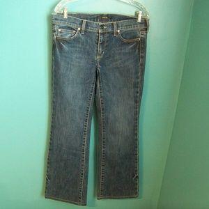 WHITE HOUSE BLACK MARKET Noir Jeans,  8R